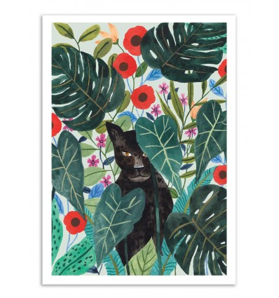 Art-Poster - Black Jaguar - Ploypisut